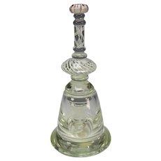 Vintage Signed Charles Wright Studio Glass Sculpture Jar Bottle