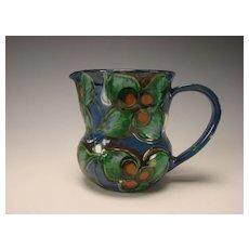 Antique Art Nouveau HAK Kahler Danish Pottery Mug Pitcher Jug Fine Modern