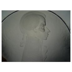 Master Jiri Harcuba Engraved Portrait Glass Plaque
