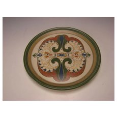 Antique Arnhem Delft Dutch Holland Pottery Charger Plate