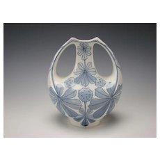 Art Nouveau Jugendstil Rorstrand Dessin Alf Wallander Porcelain Vase c1900