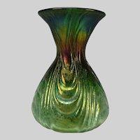 Iridescent Art Nouveau Esmerelda Loetz Glass Vase