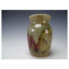 WMF Ikora German Porcelain Pottery Vase Chinese Glaze