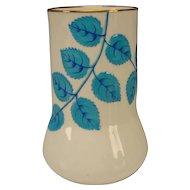 Antique Victorian Minton China English Porcelain Majolica Type Spill Vase c1890