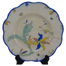Fine Gouda PZH Holland Dutch Hand Painted Plate
