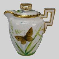 Miniature Minton Porcelain China Aesthetic Hand Painted Tea Pot