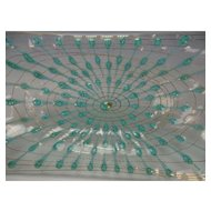 "Modernist c1960 Higgins Studio 14"" Art Glass Tray"