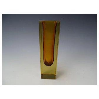 Vintage 50s/60s Seguso Flavio Poli Geode Glass Vase