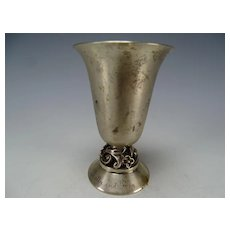 Art Deco International La Paglia Sterling Vase