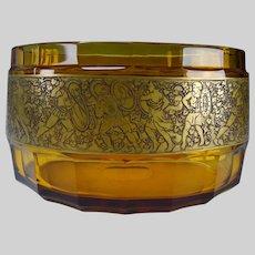 Antique Moser Karlsbad Art Glass Vase Signed