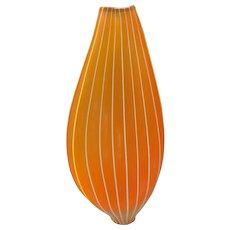 Jay Macdonnel Studio Art Glass Vase