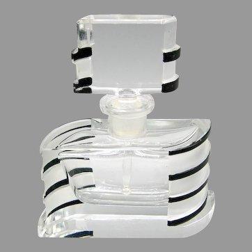 1930s Art Deco Czech Josef Schmidt Perfume Bottle