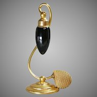 Art Deco Suspended DeVilbiss Perfume Atomizer