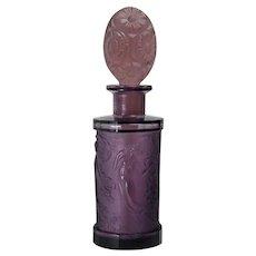 Dark Purple Large Size Hoffmann Perfume Bottle