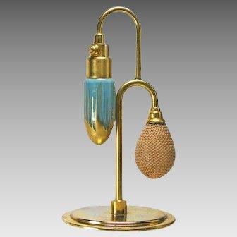 Rare 1928  DeVilbiss Debutante Style Art Deco Perfume Atomizer