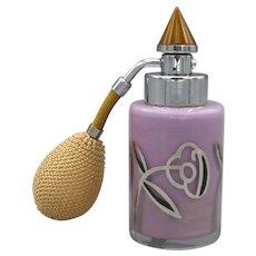 1930 Lavender DeVilbiss Art Deco Perfume Atomizer