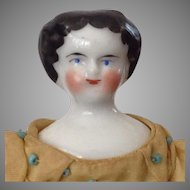 "7"" Flat top China doll~ smiling!"