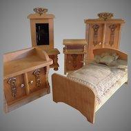 Eppendorfer and Nacke ~Miniature Bedroom Set ~Ormalu & wood~