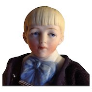 Hertwig~ Half-Bisque 6.5 inches~  Character  Boy ~