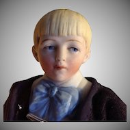 Hertwig Doll~ Half-Bisque Character City Boy ~ 6.5 inches~