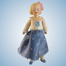 Hertwig~ Half-Bisque 6.5 inches Girl~ Character Family~