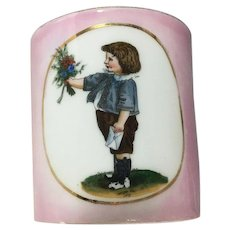 ~ Pink China Cup~ Hand painted~ child Gifting