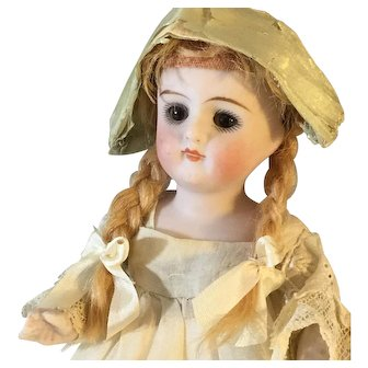 Original, 5.5 inches All bisque Germany Doll~. #130