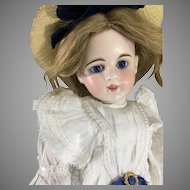 "Beautiful 15"" Sonnenberg  Belton doll ~Cobalt eyes~ # 46-7"