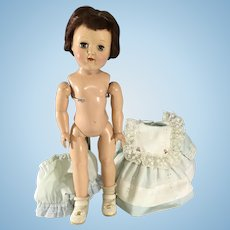 """Toni Ideal Doll P-91~ 16"""" Hard Plastic~ Attic find- need to be strung"""