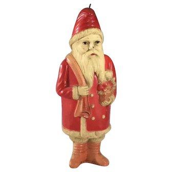 """Celluloid Belschnickel~ 9""""  Santa~ USA"""