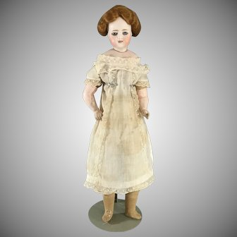 "15"" S&H 908 with bisque shoulder plate~ Early~ Lovely Simon Halbig  Doll"