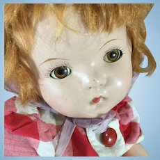 """Red Hair~ Darling Compo 16"""" Patsy type"""