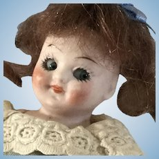 """Googly #330~ 3.5"""" ~All Bisque ~ Made in Germany~ Darling"""