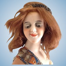 "Galluba & Hoffman 5842 Lovely 12"" German bisque Lady"