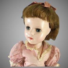 "Sweet Sue Walker~ All original~ Hard Plastic~ 18"" American Character Walker"