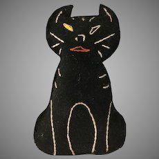 One eyed  Mole skin Cat~ home made