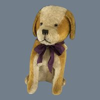 Big, Mohair~ Excelsior Stuffed Dog~ 15 INCHES tall!