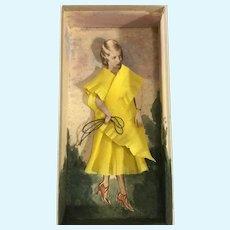 Paper Doll Diorama~ dated 1931