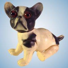 Dog~ Celluloid~ German Googly French Bull Dog ~