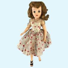 """Miss Revlon~ Ideal  20""""~ 'Cherries A La Mode'"""