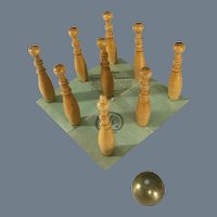 Nine Pin Bowling set for Dolls~ Germany