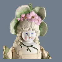 """Antique Primrose Bonnethead ~20"""" ~ TLC"""