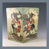 Child's Book~ Campin Spree~ for Doll Display