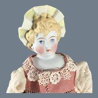 """Sun Bonnet head Antique doll 12 """""""