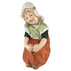Darling Heubach Dutch Girl  Piano baby