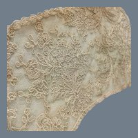 Antique Handmade Lace cuffs~ Doll dress accent