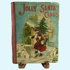 Jolly Santa Claus Book~ 1900 ~ For Doll Display