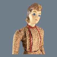 Vintage~ Composition Mini Mannequin~ doll 12 inches