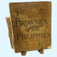 Palmer Cox Book ~ Brownies in the Philippines~ 1904