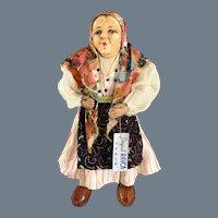 "10"" Ravca Paris~ Elderly Woman~ Levice Region- Hungary/Slovakia"
